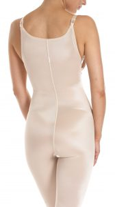 B – High Back, Front to Underbust